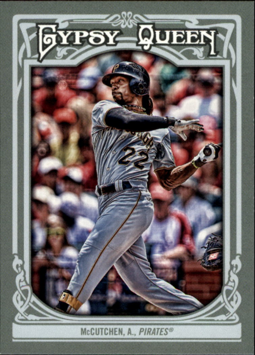 2013 Topps Gypsy Queen #9A Andrew McCutchen