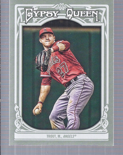 2013 Topps Gypsy Queen #14A Mike Trout SP