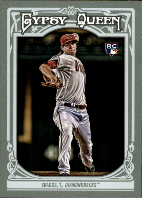 2013 Topps Gypsy Queen #15 Tyler Skaggs RC