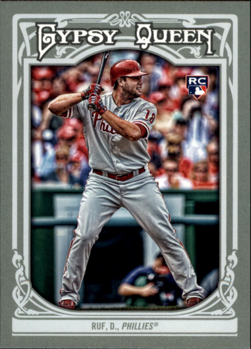 2013 Topps Gypsy Queen #32 Darin Ruf RC