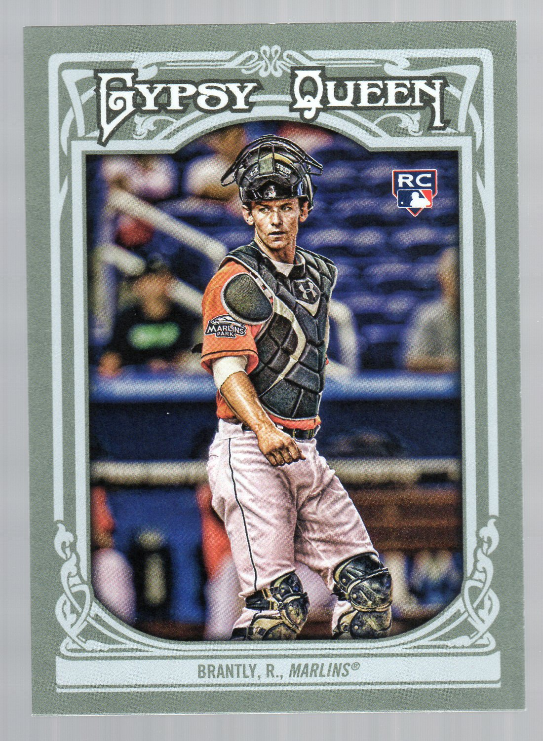 2013 Topps Gypsy Queen #33 Rob Brantly RC