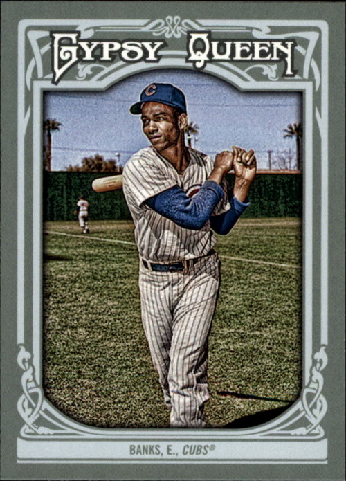 2013 Topps Gypsy Queen #200 Ernie Banks