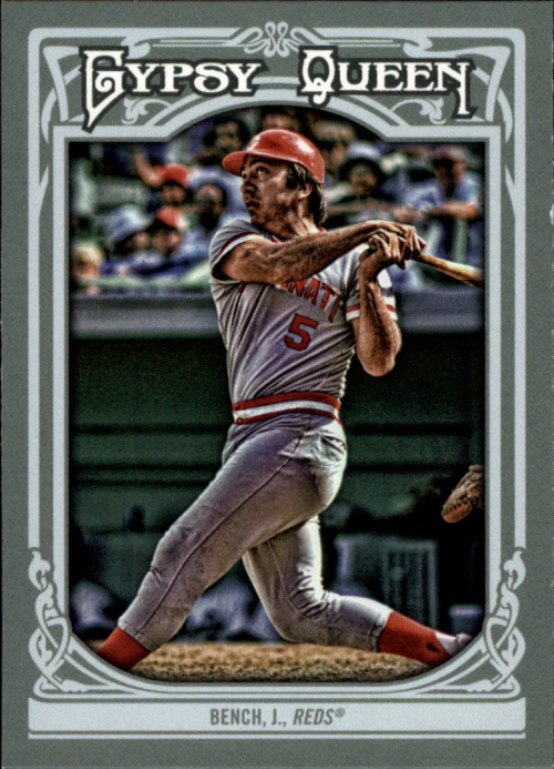 2013 Topps Gypsy Queen #300 Johnny Bench