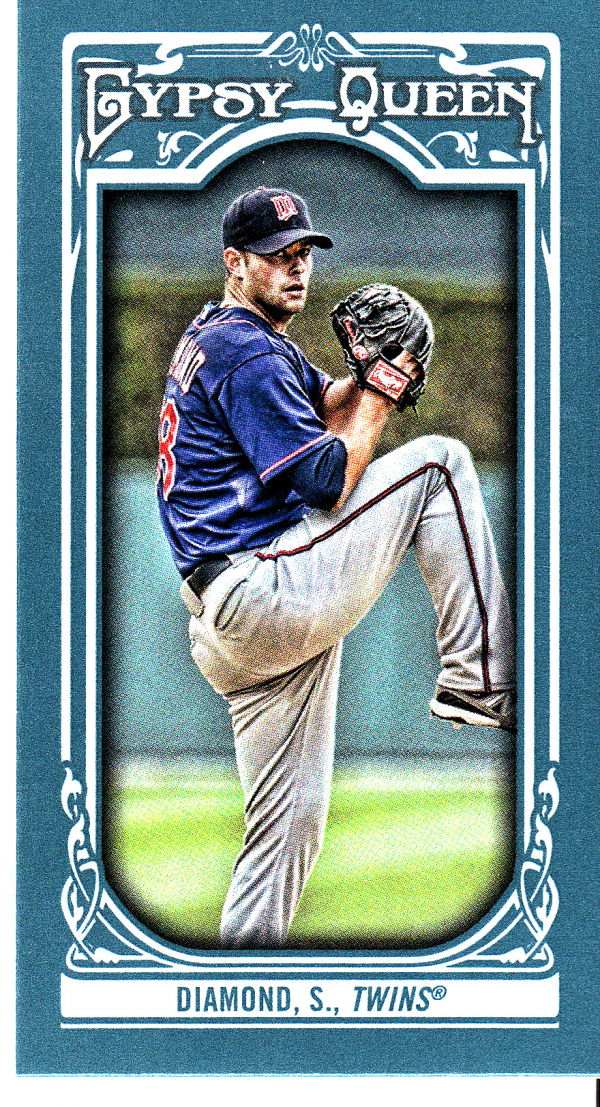 2013 Topps Gypsy Queen Mini #138 Scott Diamond