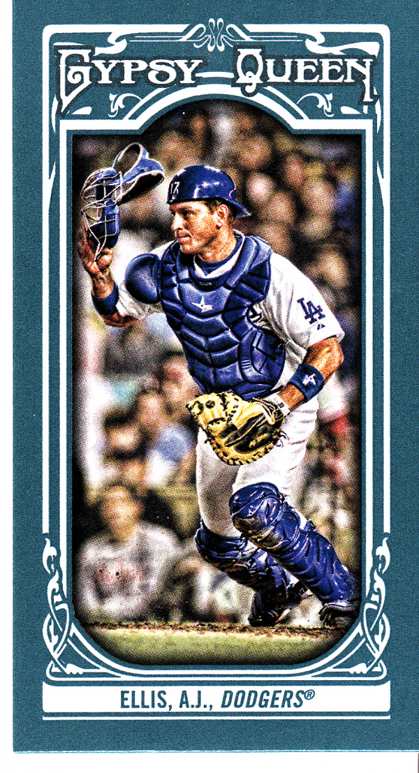 2013 Topps Gypsy Queen Mini #333 A.J. Ellis