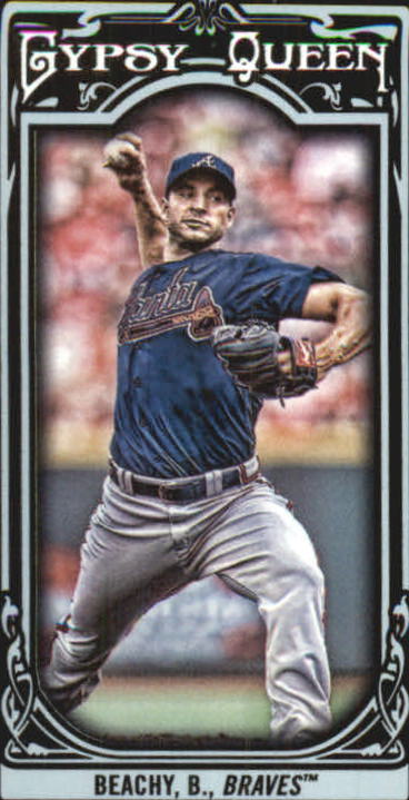 2013 Topps Gypsy Queen Mini Black #16 Brandon Beachy