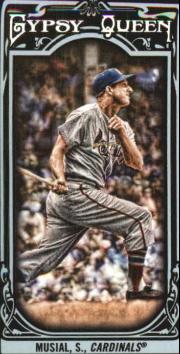 2013 Topps Gypsy Queen Mini Black #87 Stan Musial