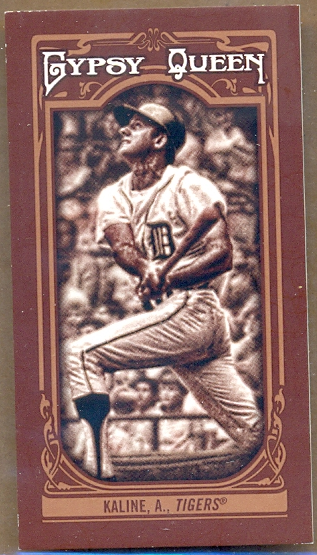 2013 Topps Gypsy Queen Mini Sepia #10 Al Kaline