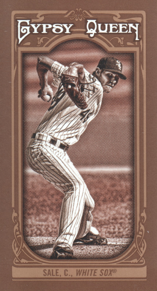 2013 Topps Gypsy Queen Mini Sepia #25 Chris Sale