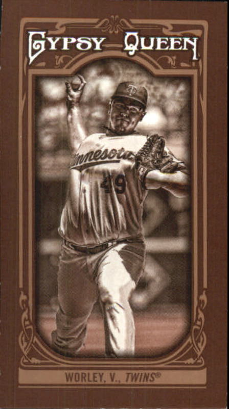 2013 Topps Gypsy Queen Mini Sepia #261 Vance Worley