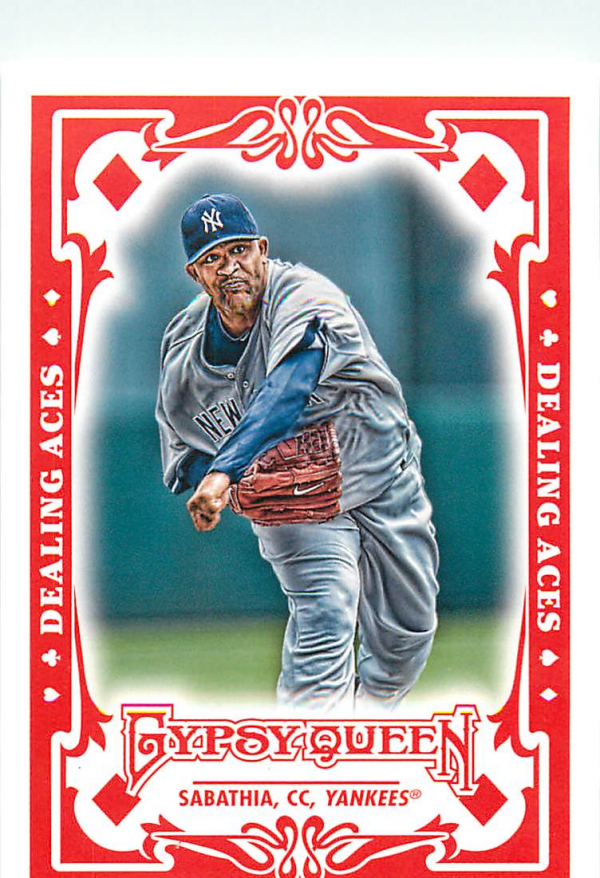 2013 Topps Gypsy Queen Dealing Aces #CC CC Sabathia