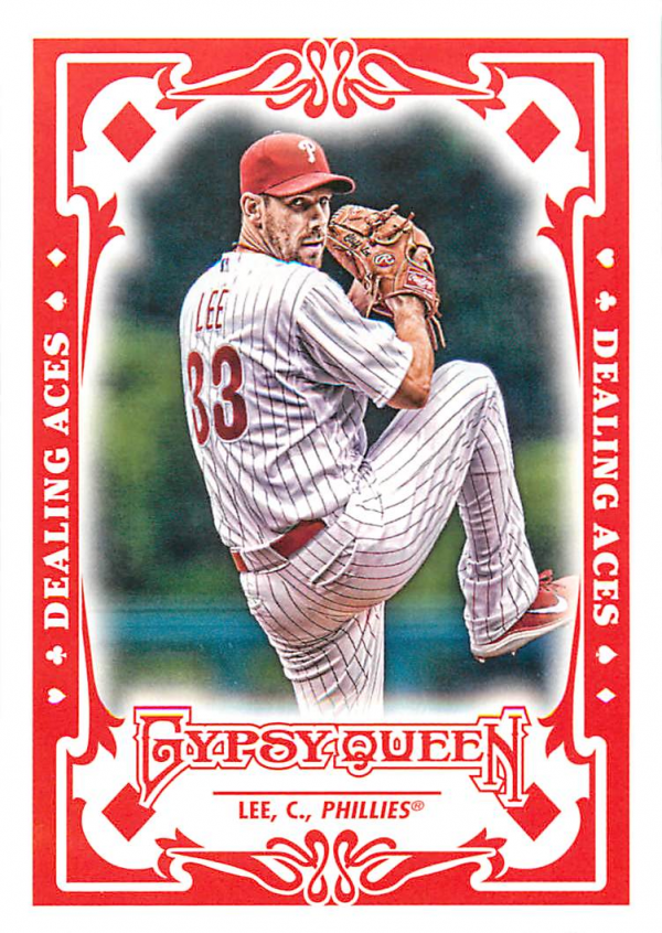 2013 Topps Gypsy Queen Dealing Aces #CL Cliff Lee