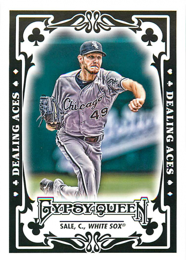2013 Topps Gypsy Queen Dealing Aces #CS Chris Sale