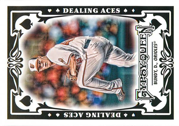 2013 Topps Gypsy Queen Dealing Aces #DB Dylan Bundy