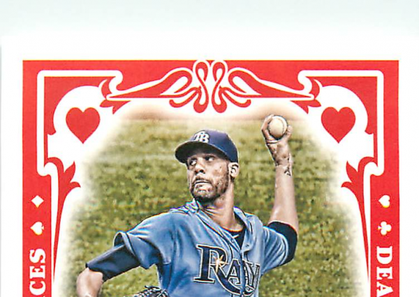 2013 Topps Gypsy Queen Dealing Aces #DP David Price