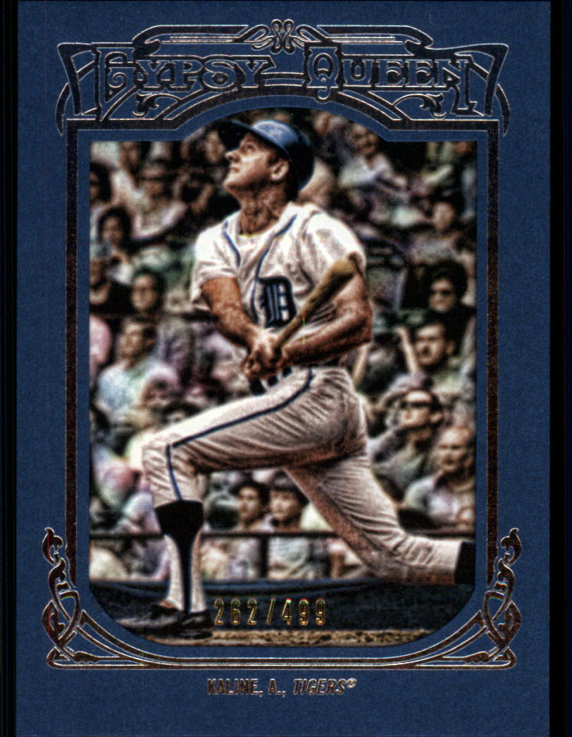 2013 Topps Gypsy Queen Framed Blue #10 Al Kaline