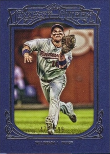 2013 Topps Gypsy Queen Framed Blue #31 Josh Willingham