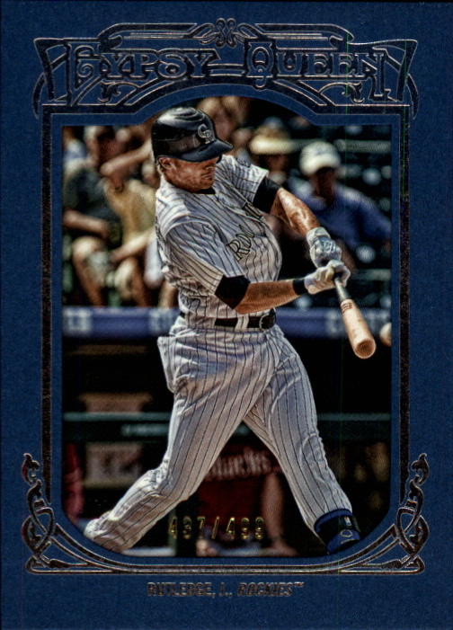 2013 Topps Gypsy Queen Framed Blue #74 Josh Rutledge