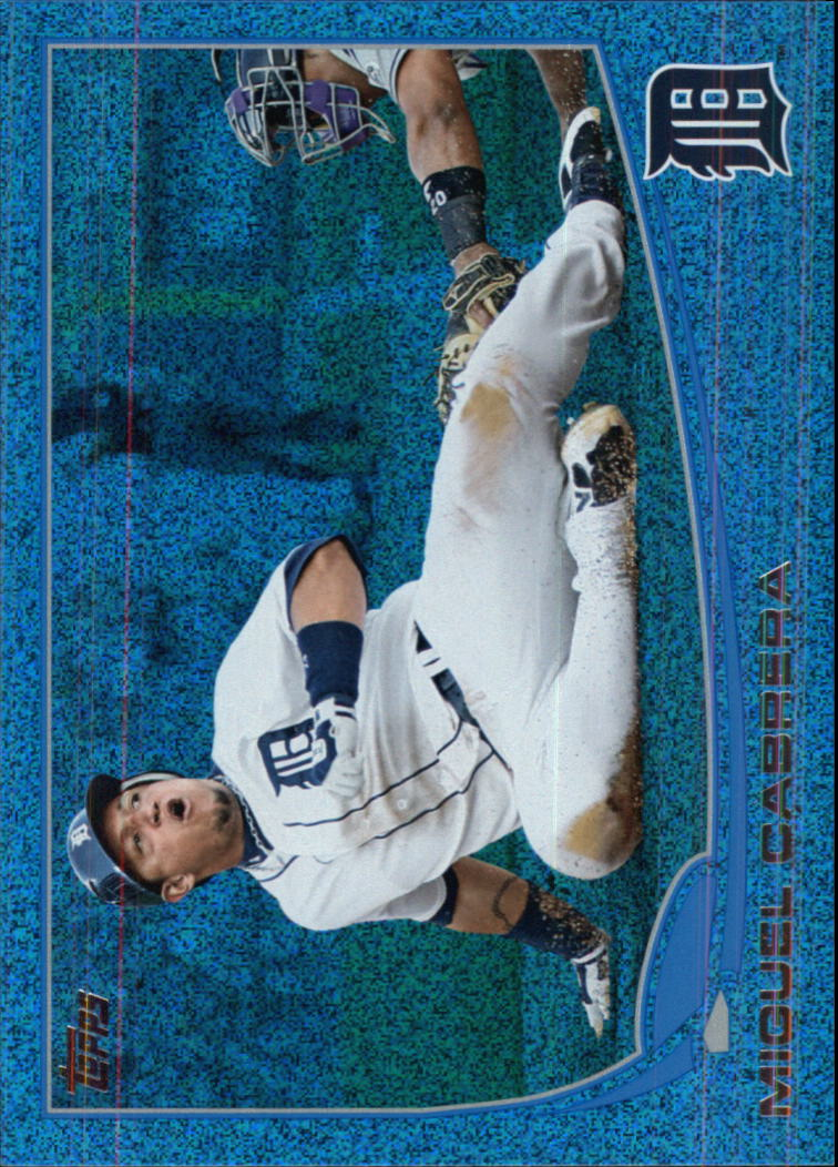 2013 Topps Silver Slate Blue Sparkle Wrapper Redemption #660 Miguel Cabrera