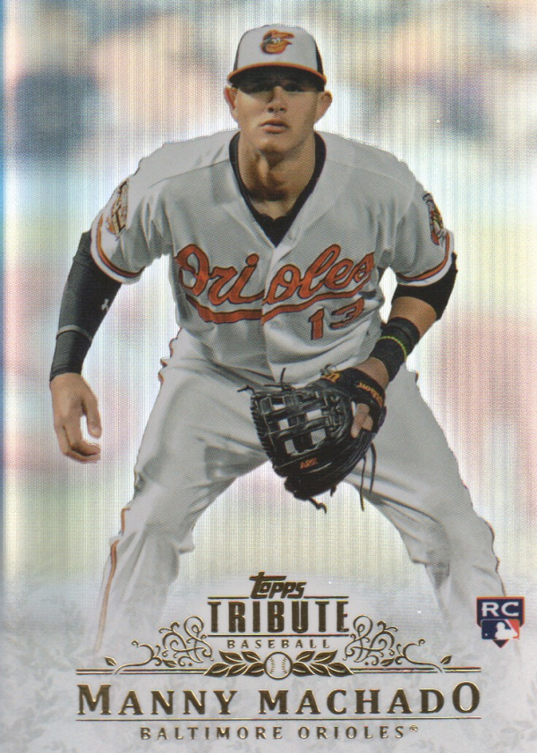 2013 Topps Tribute #93 Manny Machado RC