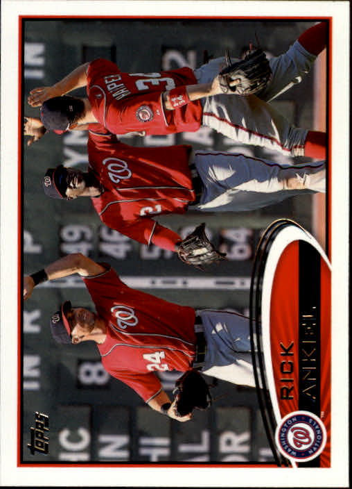 2012 Topps Update Orange #US11 Rick Ankiel