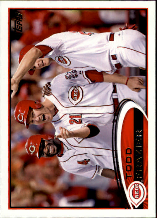 2012 Topps Update Orange #US275 Todd Frazier