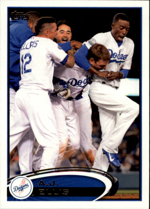 2012 Topps Update Orange #US304 A.J. Ellis