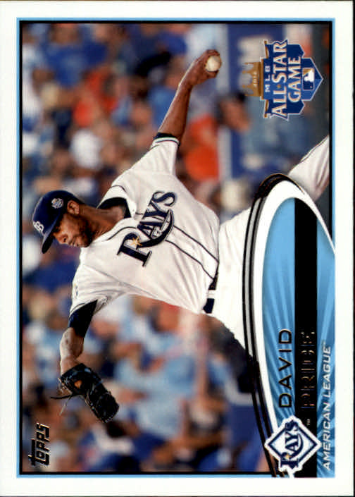2012 Topps Update Orange #US305 David Price