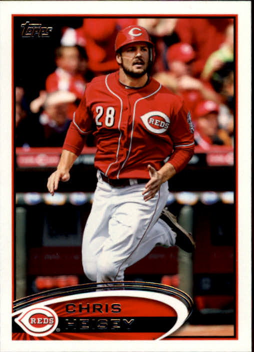 2012 Topps Update Orange #US309 Chris Heisey