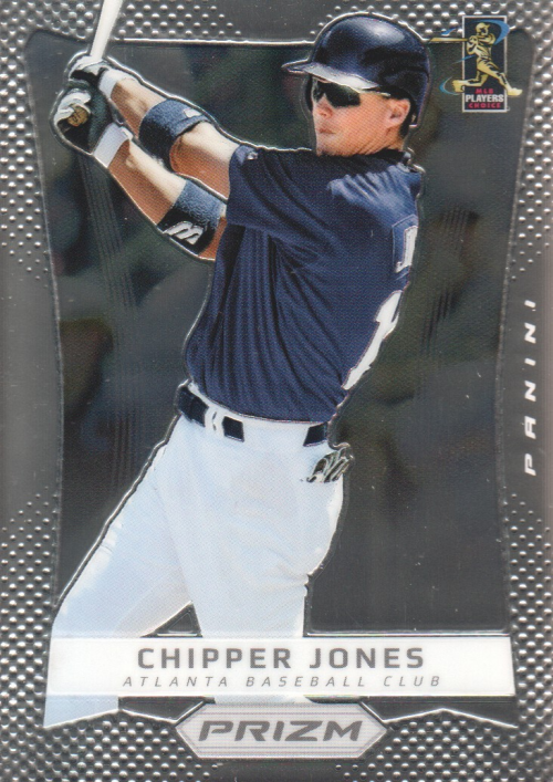 2012 Panini Prizm #100 Chipper Jones