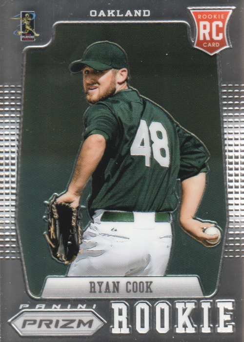 2012 Panini Prizm #190 Ryan Cook RC