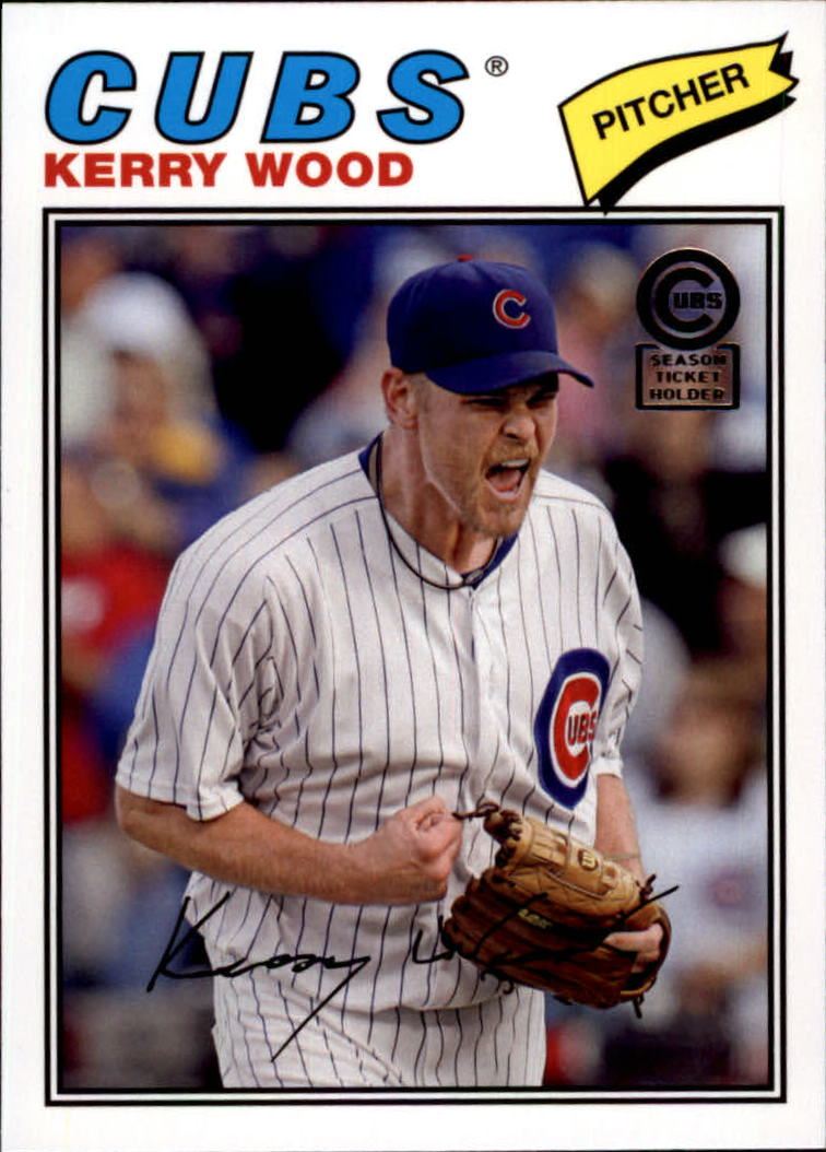 2013 Cubs Topps Archives Season Ticket Holder #25 Kerry Wood