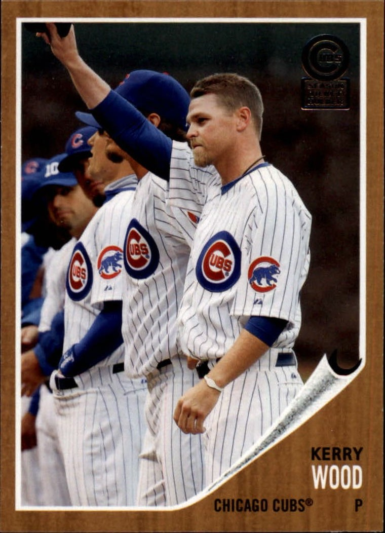 2013 Cubs Topps Archives Season Ticket Holder #34 Kerry Wood