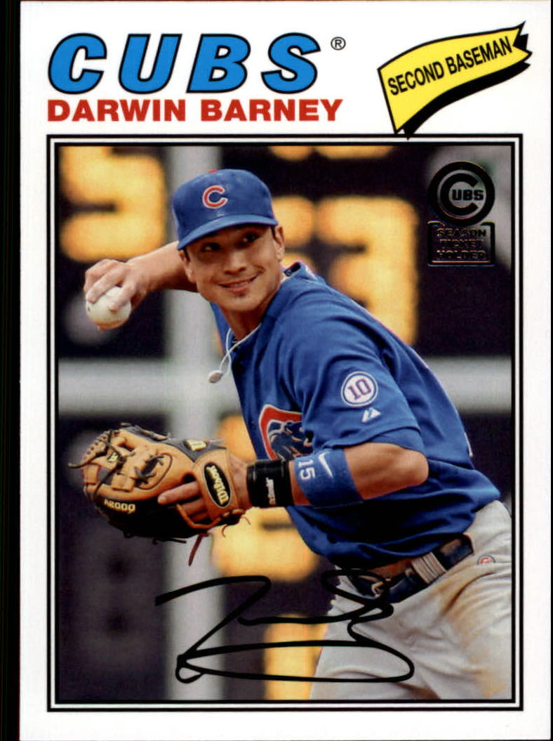 2013 Cubs Topps Archives Season Ticket Holder #54 Darwin Barney
