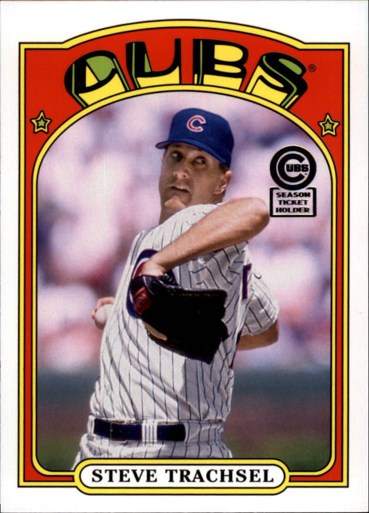 2013 Cubs Topps Archives Season Ticket Holder #82 Steve Trachsel