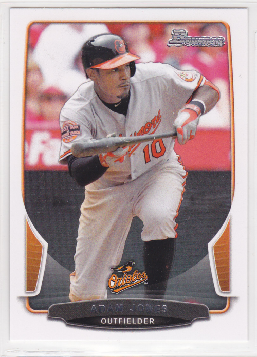 2013 Bowman #1 Adam Jones
