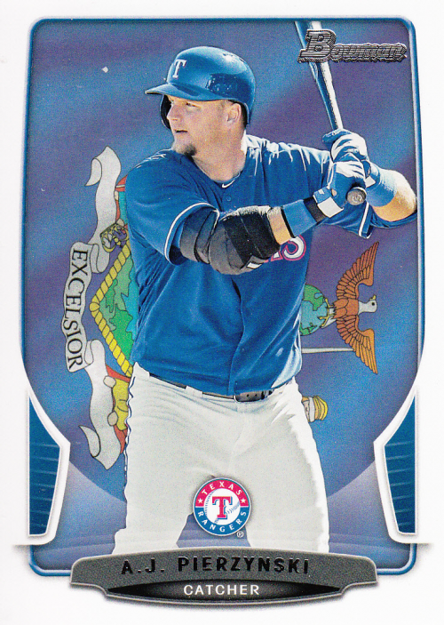 2013 Bowman Hometown #21 A.J. Pierzynski