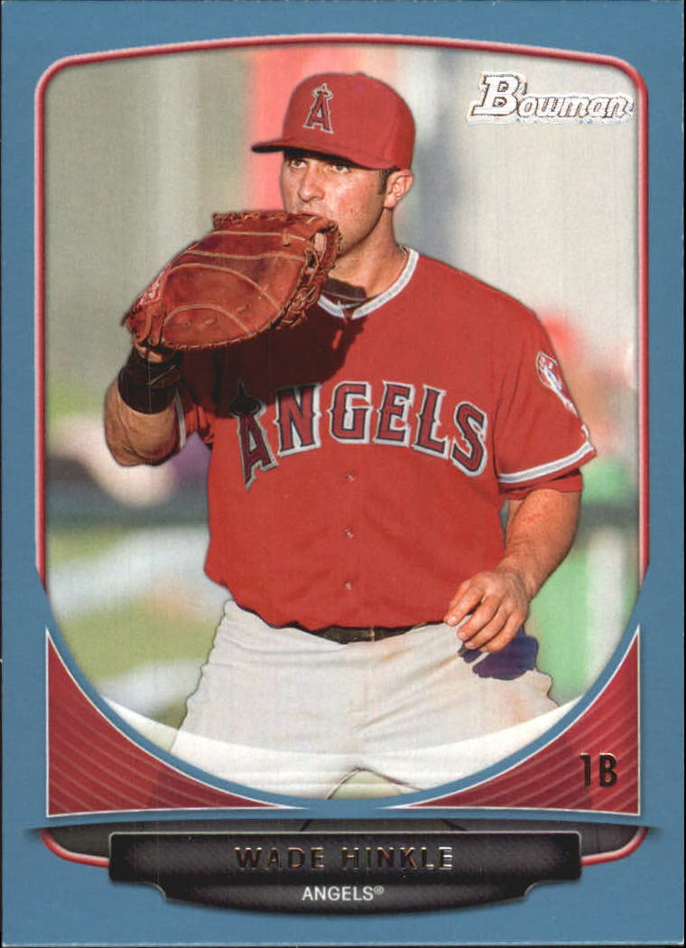 2013 Bowman Prospects Blue #BP57 Wade Hinkle