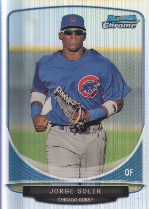2013 Bowman Chrome Cream of the Crop Mini Refractors #CC2 Jorge Soler