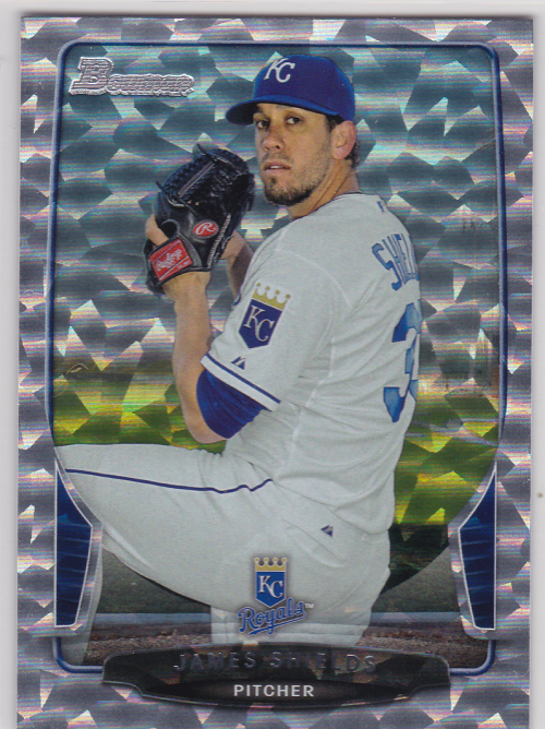 2013 Bowman Silver Ice #124 James Shields
