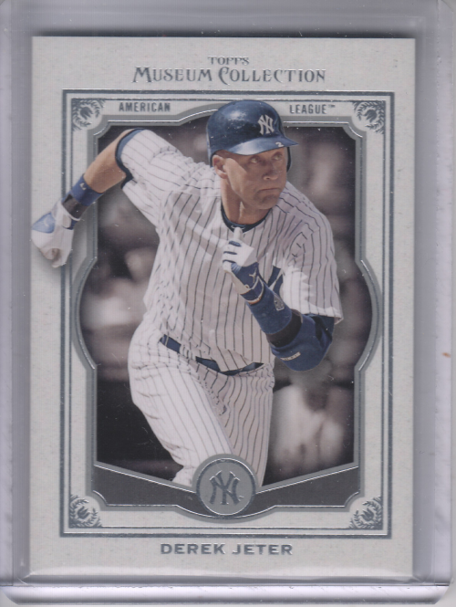 2013 Topps Museum Collection #1 Derek Jeter
