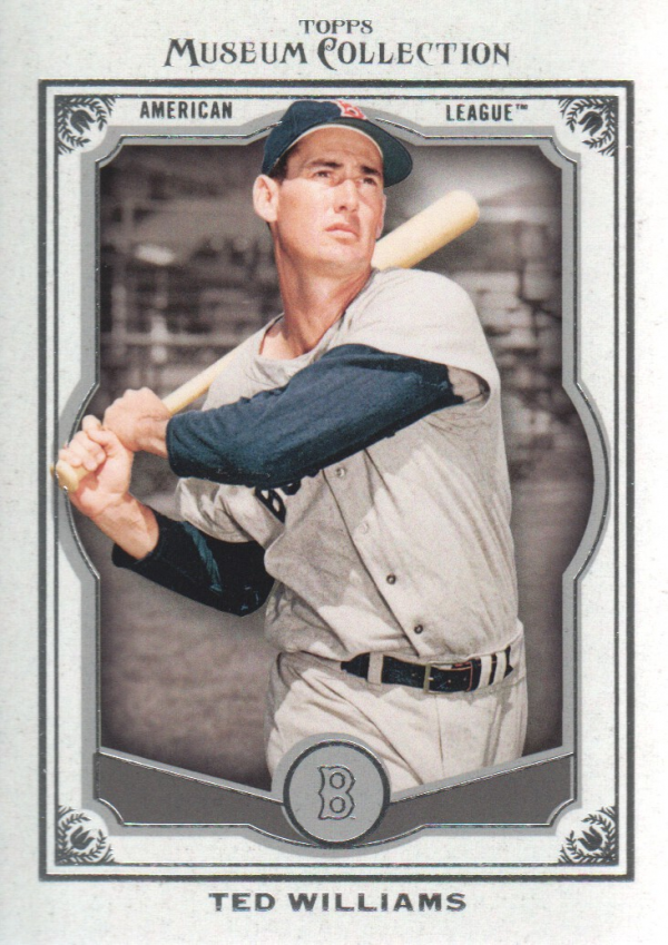2013 Topps Museum Collection #4 Ted Williams