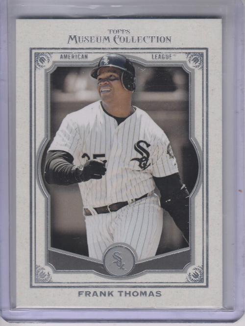 2013 Topps Museum Collection #7 Frank Thomas