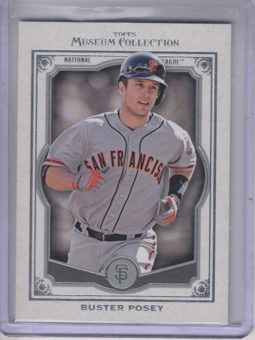 2013 Topps Museum Collection #8 Buster Posey