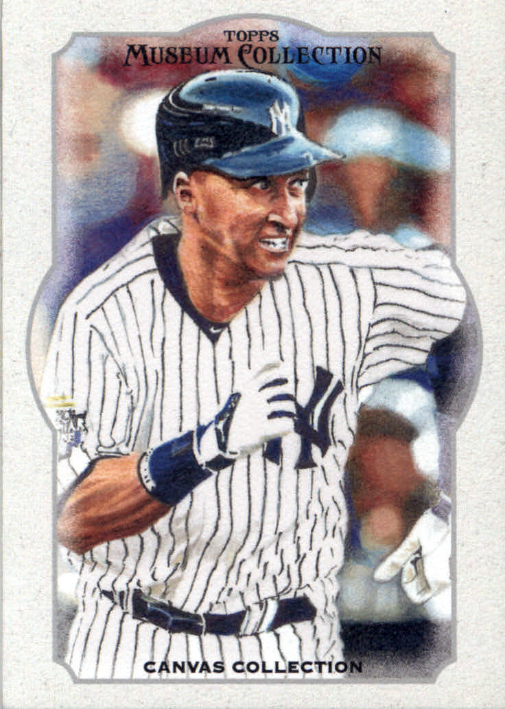 2013 Topps Museum Collection Canvas Collection #22 Derek Jeter