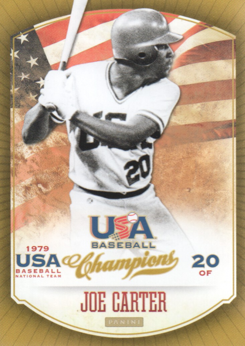 2013 USA Baseball Champions #4 Joe Carter