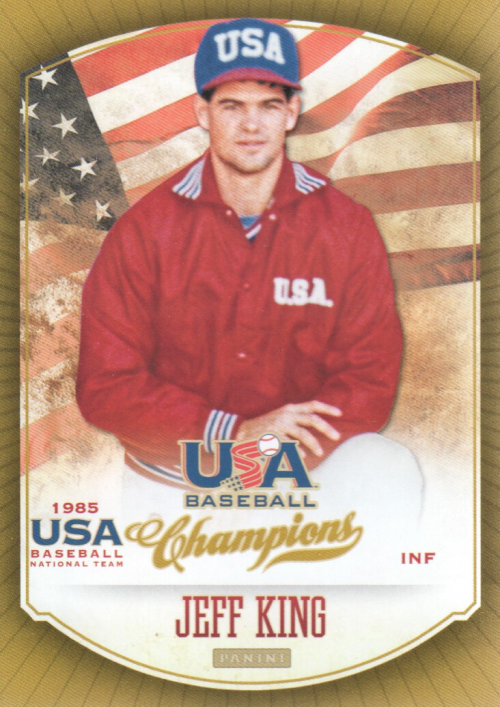 2013 USA Baseball Champions #8 Jeff King