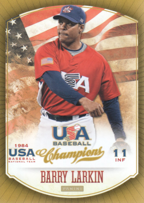 2013 USA Baseball Champions #12 Barry Larkin