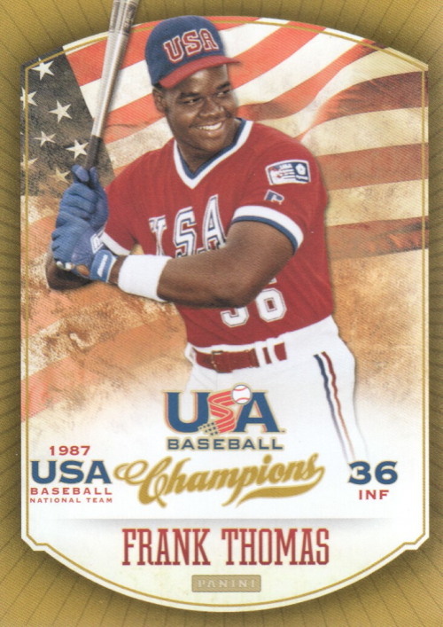 2013 USA Baseball Champions #15 Frank Thomas