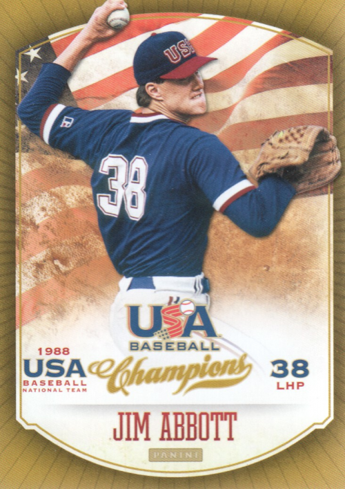 2013 USA Baseball Champions #16 Jim Abbott